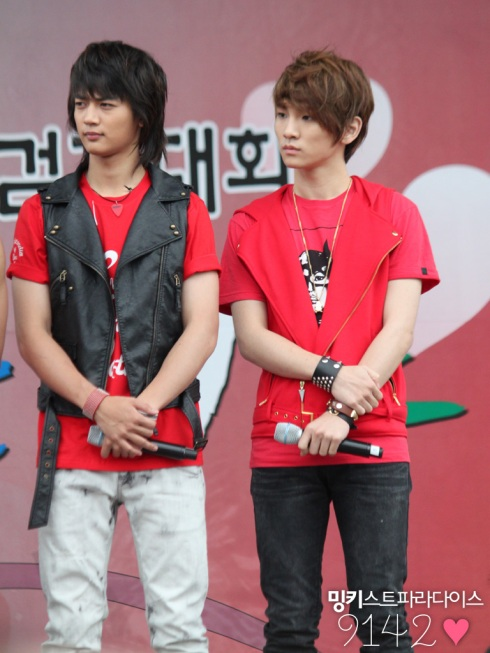 SHINee in Charity Walk Public Broadcasting Minkeyy3