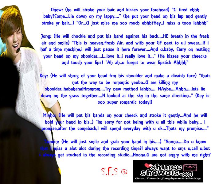Scenarios | SHINee Shawols SG | Page 16