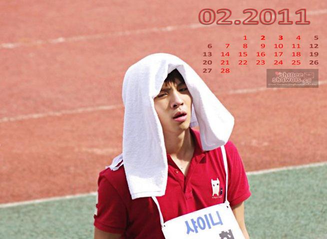 February 2011 Calendar Events. Taemin+2011+calendar